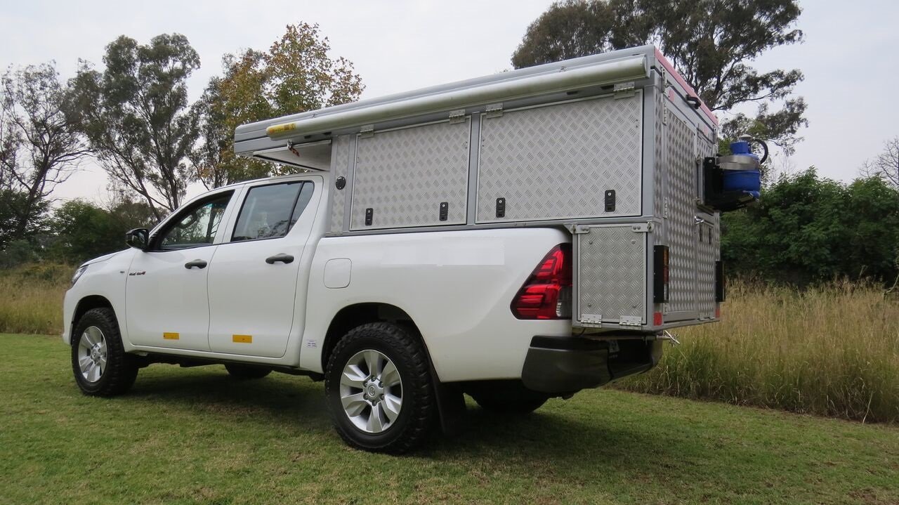 Toyota Hilux Double Cab Bushcamper Camper South Africa