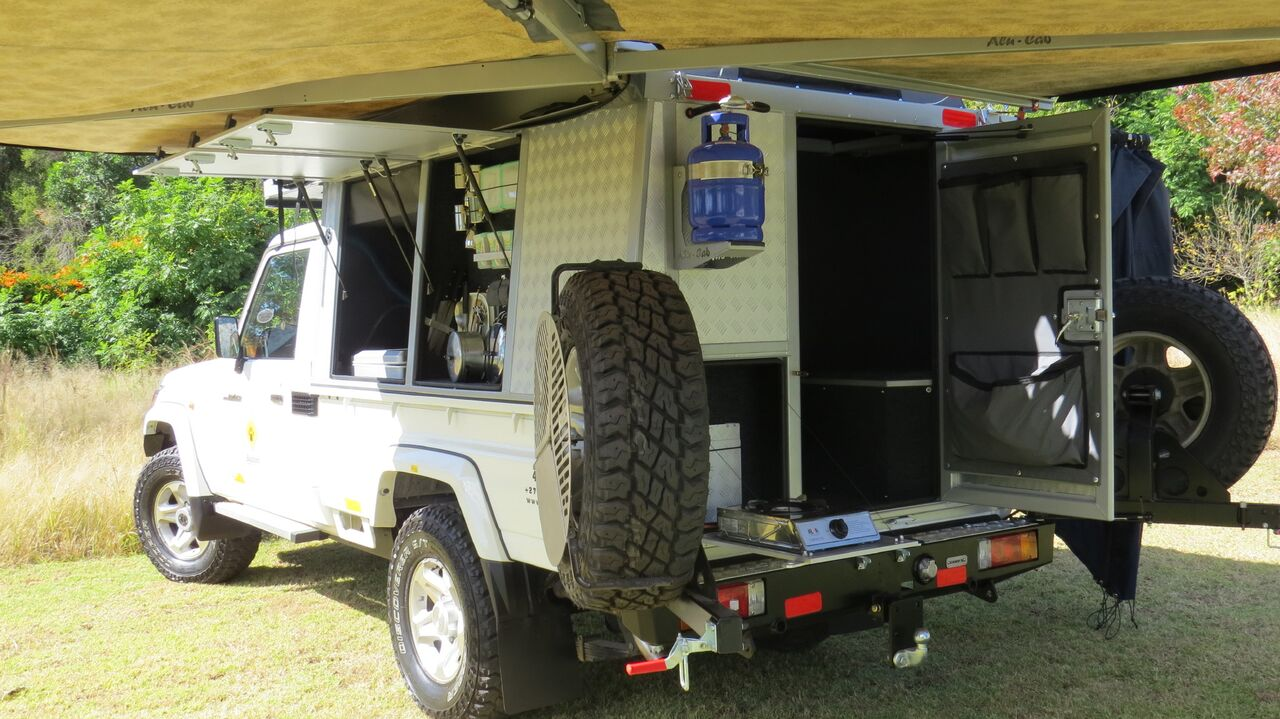 All 4 X 4 Campers And Countries Camper South Africa