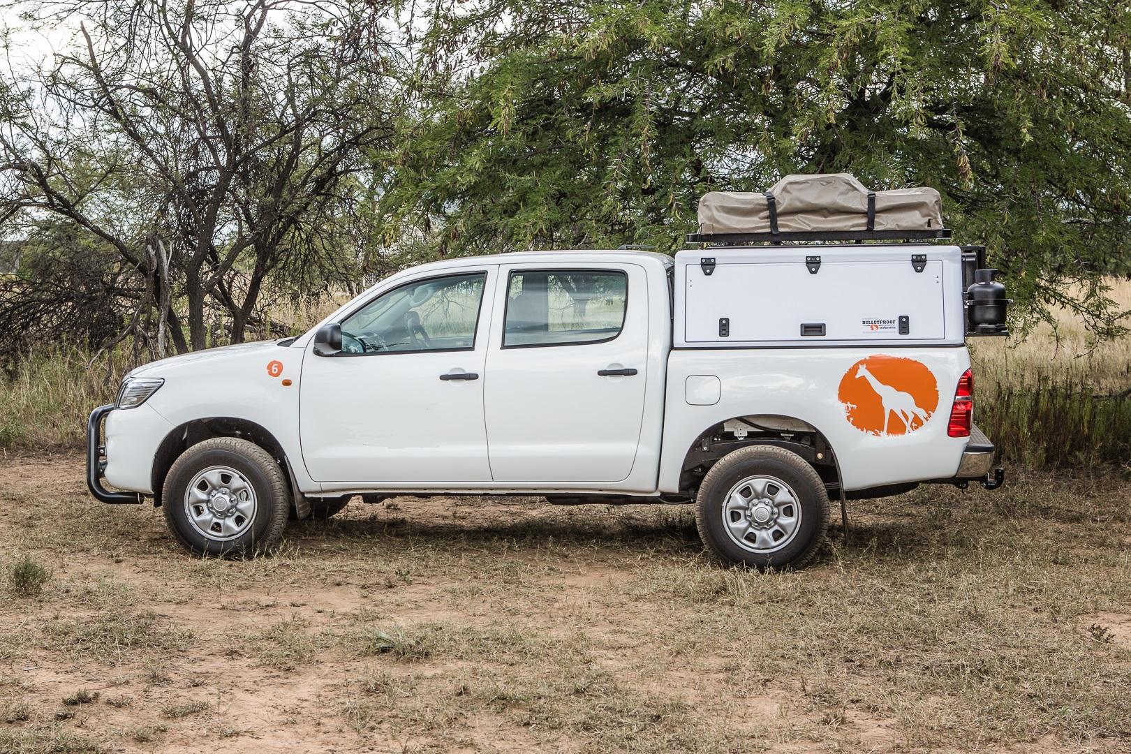 Toyota Hilux Srx Dc 2 5td Fwd C040 Camper South Africa