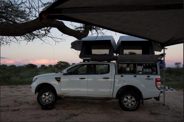 Ford Double Cab Ranger 4x4 Camper Camper South Africa